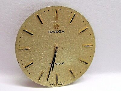 "Antique Omega De Ville "" Gold Satin"" Dial 25 mm in Size. #202759 ZJ."