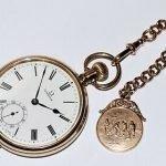 Vintage Omega Gold Pocket Watch