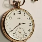 Antique Omega Pocket Watch