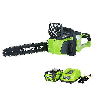 GreenWorks 40v Chainsaw 16 Inch