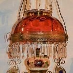 Antique Victorian Oil Lamps
