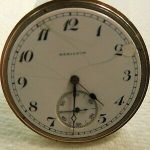Hamilton Gold Pocket Watch