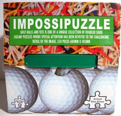 Double-Sided Impossipuzzle Jigsaw Puzzle
