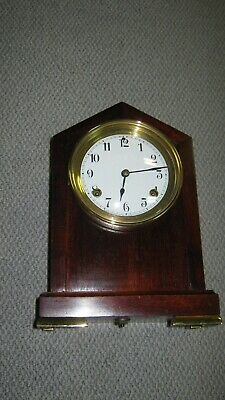 antique waterbury mantel clock