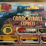 Cannonball Express Train Set