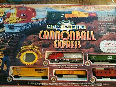 Cannonball Express Train Set
