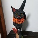 Bethany Lowe Halloween Cat