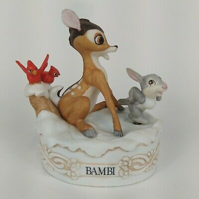 Disney Collection Musical Memories Limited Edition Bambi Music Box