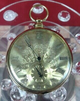 Key Wind Pocket Watch