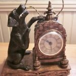 labrador dog clocks