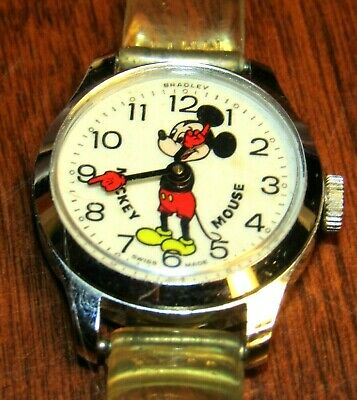 Vintage Mickey Mouse Watch Swiss Made