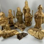 nativity set wooden