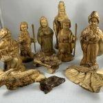 nativity set wooden