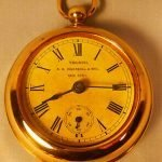 antique ingersoll jumbo pocket watch