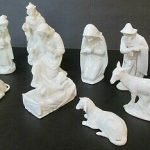 Dresden porcelain nativity set