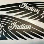 Indian motorcycle decals
