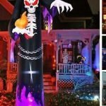 halloween blow up yard decorations