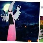 Halloween Lighted Outdoor Blow-Up Decor