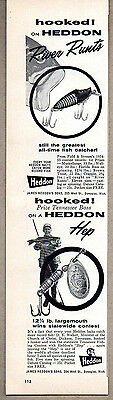 vintage heddon advertising