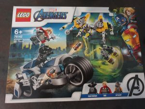 Lego Marvel Avengers Sets 76142