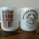 vintage advertising coffee mugs