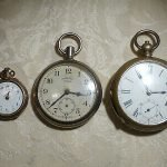 ingersoll crown pocket watch