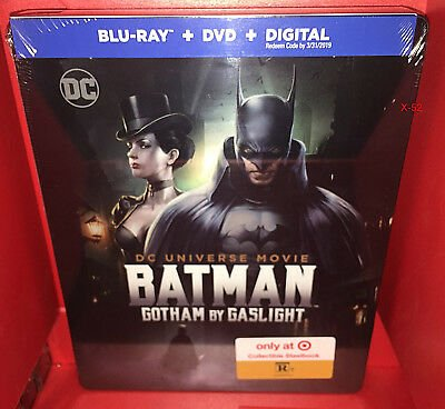 Batman Gotham By Gaslight Steelbook