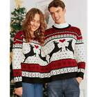 couples christmas jumpers funny