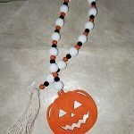 halloween garland beads