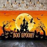 large halloween backdrops