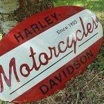 vintage harley advertising