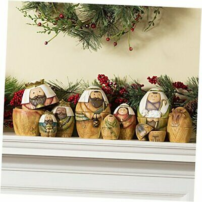 Nativity Set Nesting Dolls