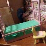 barbie furniture bed