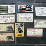vintage advertising blotters