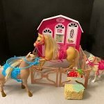 barbie horse ranch playset