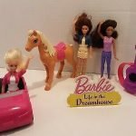 barbie dream house car