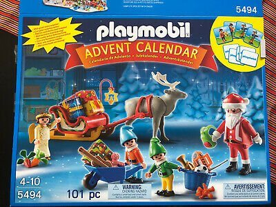 Playmobil Santa's Workshop Advent Calendar (5494)