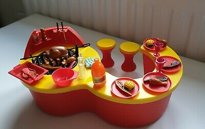 indy's outdoor Barbecue vintage retro, dolls house furniture barbie to. 1980s