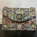 Vintage Gucci Floral Bag