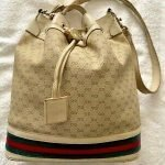 Vintage Gucci Drawstring Bucket Bag