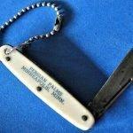 vintage advertising pocket knives