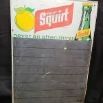 vintage advertising boards