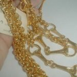 Vintage Gucci Gold Chain