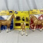 Vintage Breyer Horse With Saddle