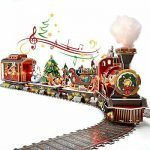 Christmas Train Set For Under Tree