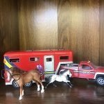 Breyer Stablemates Truck And Trailer