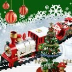 Christmas Tree Train Set Decoration