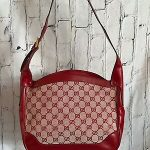 Vintage Gucci Canvas Handbags