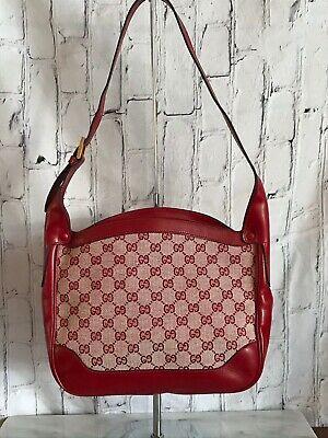 Vintage Gucci Canvas Handbags