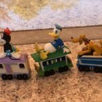 Mickey Mouse Christmas Train Set Hallmark